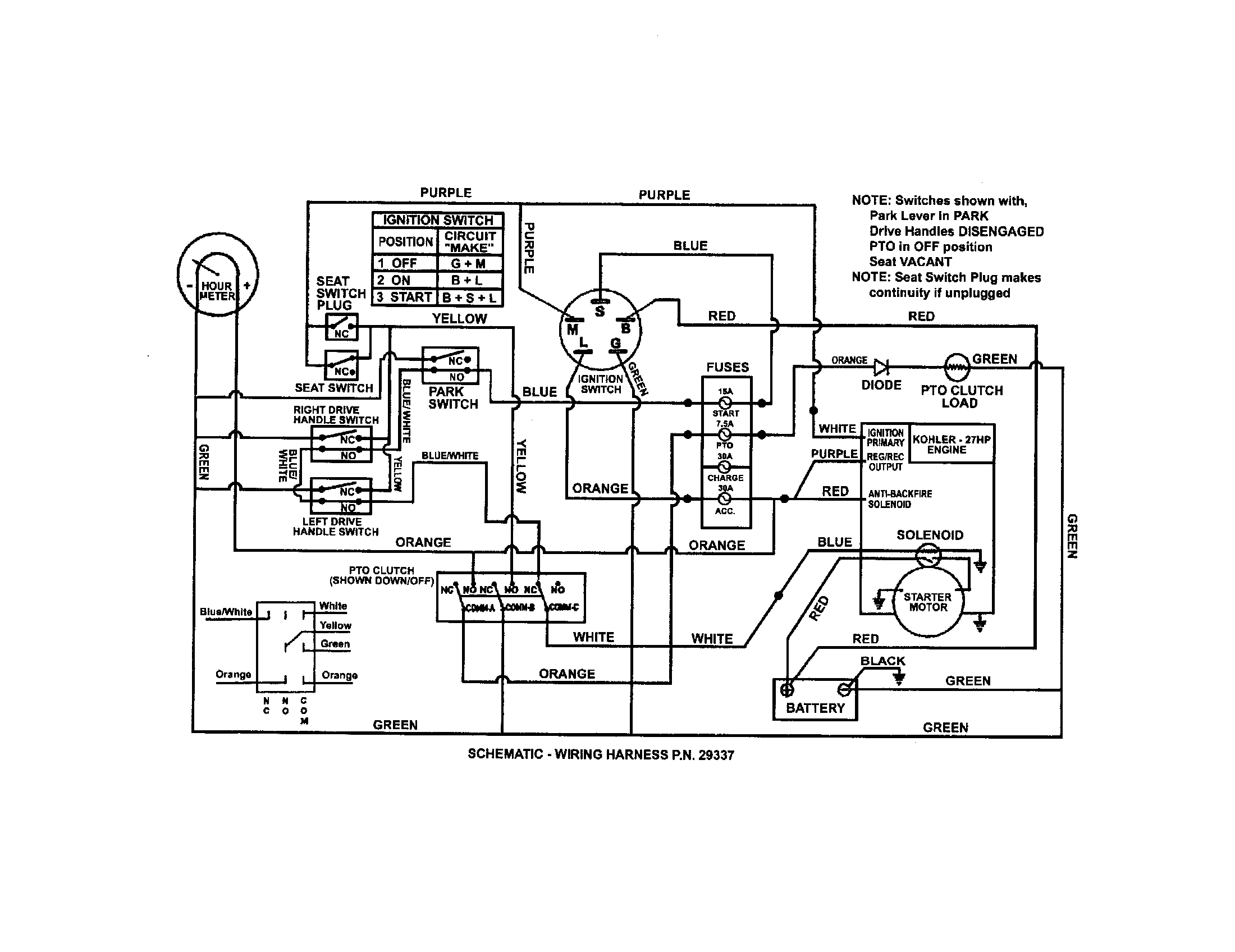 Kohler Engines Wiring Diagrams