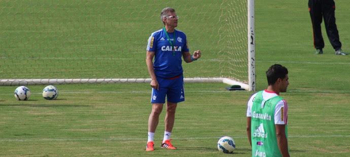 Oswaldo de Oliveira, Técnico, Flamengo, Brasília, Treino (Foto: Lucas Magalhães)