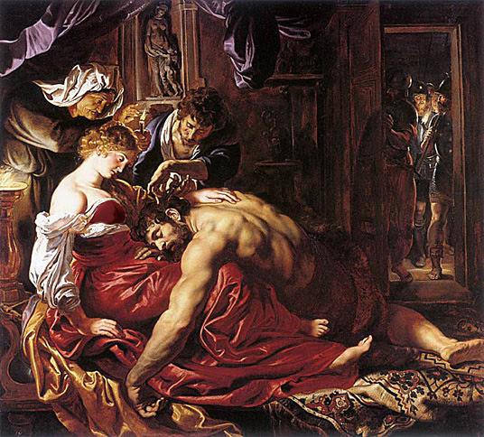 Rubens Samson and Delilah ca1609