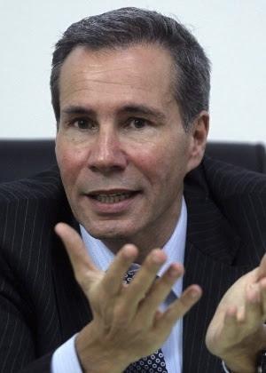 O promotor Alberto Nisman