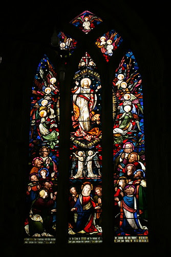 Church Window at Breedon on the Hill