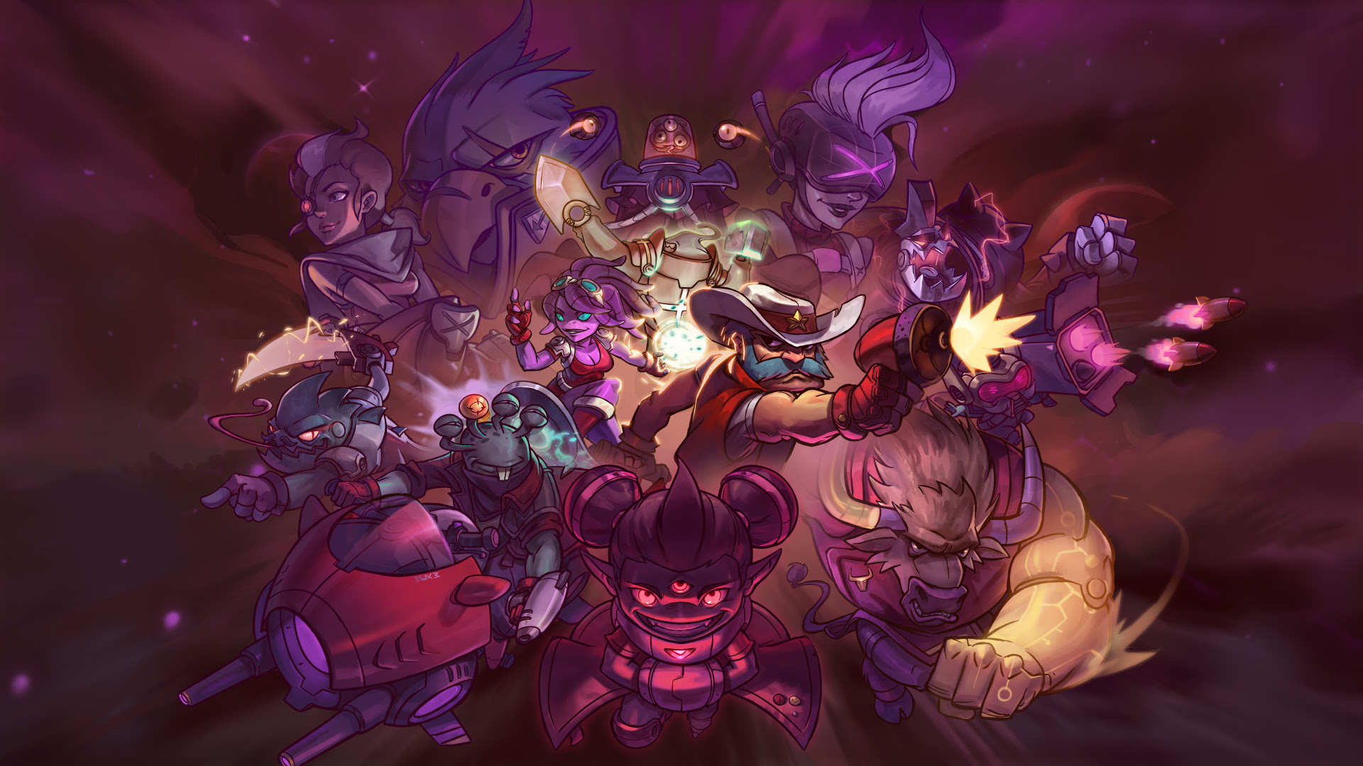Awesomenauts is going free-to-play at last screenshot