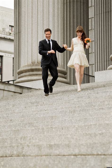11 Wedding Dresses To Wear To A City Hall Wedding   HuffPost