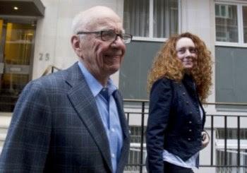 Rupert Murdoch e Rebekah Brooks