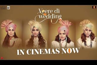 Veere Di Wedding will be in Cinemas on 1st June.