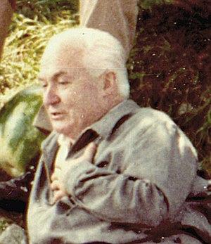 Carlo Carretto at Spello, July 1971