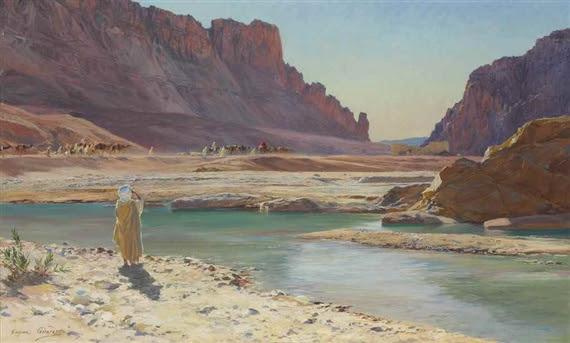 Eugène-Alexis Girardet, The Passing Caravan