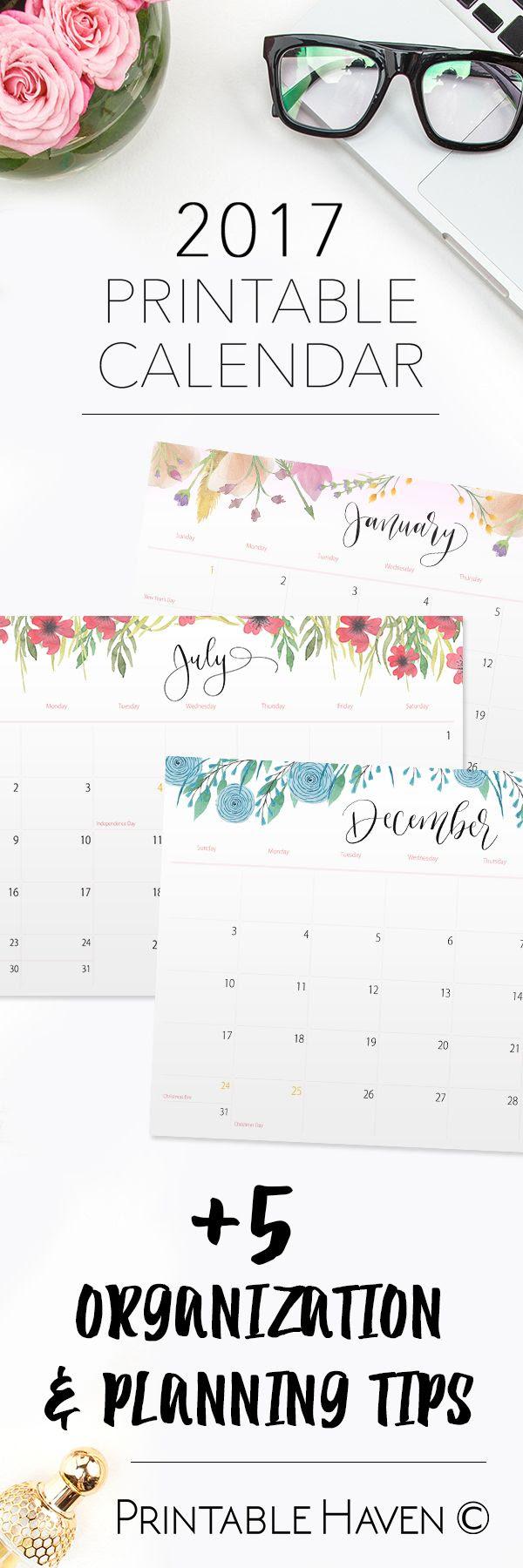 1000+ ideas about 2017 Calendar Printable on Pinterest | May 2017 ...