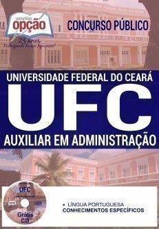 apostila Concurso UFC 2016 AUXILIAR EM ADMINISTRAÇÃO