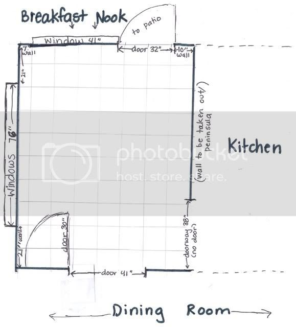 Small kitchen remodel - layout input please - Kitchens Forum ...
