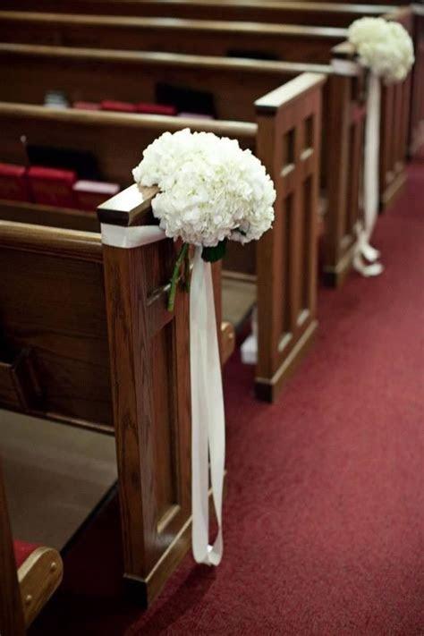 Church wedding decorations   weddingd   Pinterest