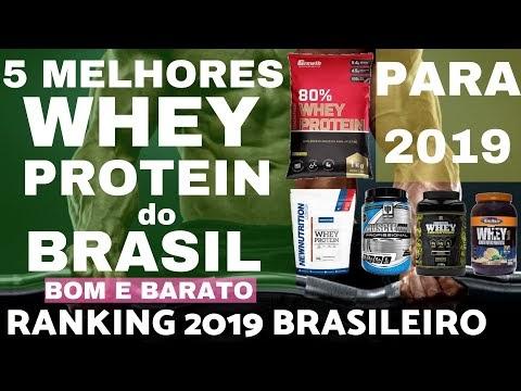 5 MELHORES WHEY PROTEIN do BRASIL para 2019 Ranking Brasileiro Melhores Whey Bom e Barato