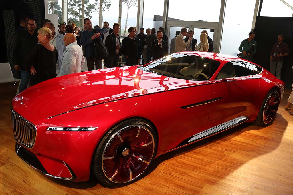 Vision Mercedes-Maybach 6 Looks Back at the Future ...