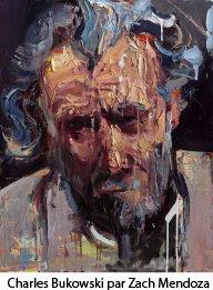 Charles Bukowski par Zach Mendoza