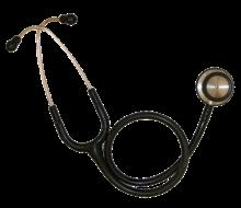 Alat untuk mengatasi had deria pendengaran dan penglihatan stetoskop