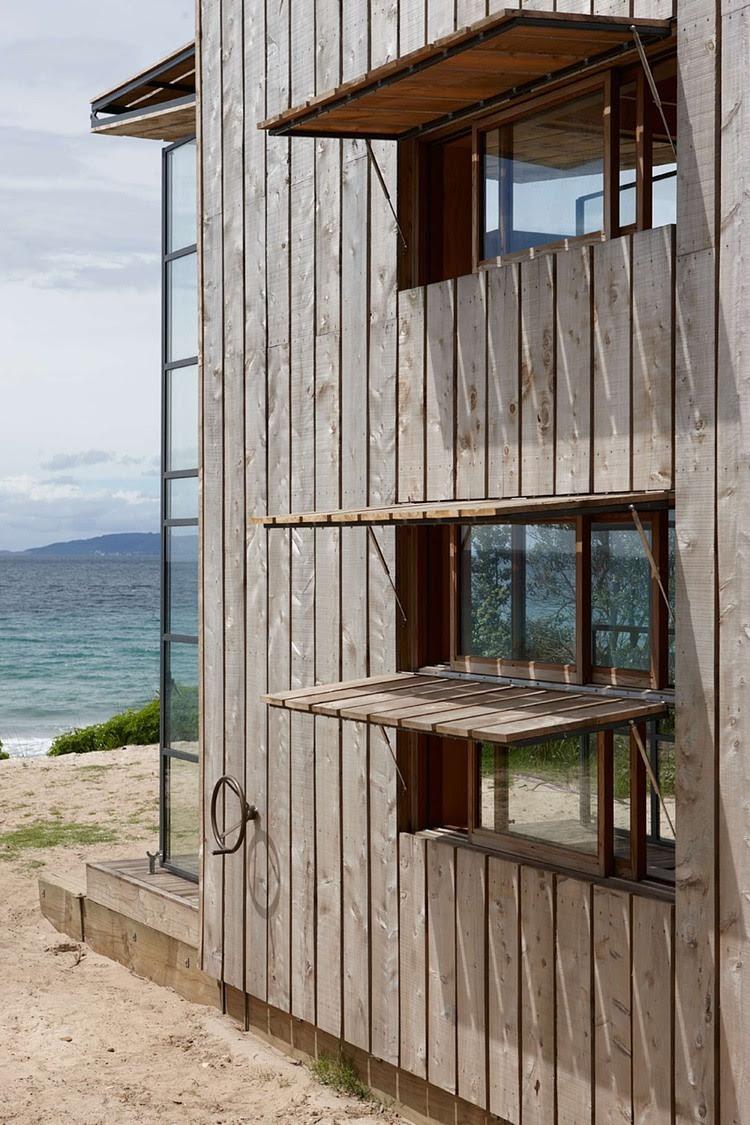 Beach Cabin by Crosson Clarke Carnachan Architects