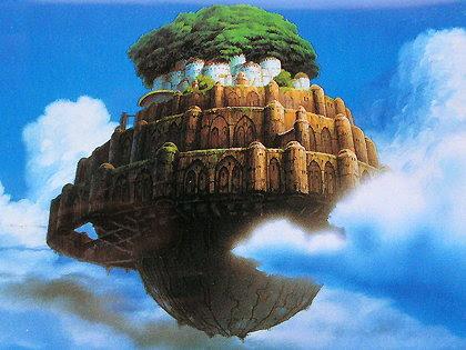 いつまでも色褪せない感動をあなたに天空の城ラピュタの高画質画像