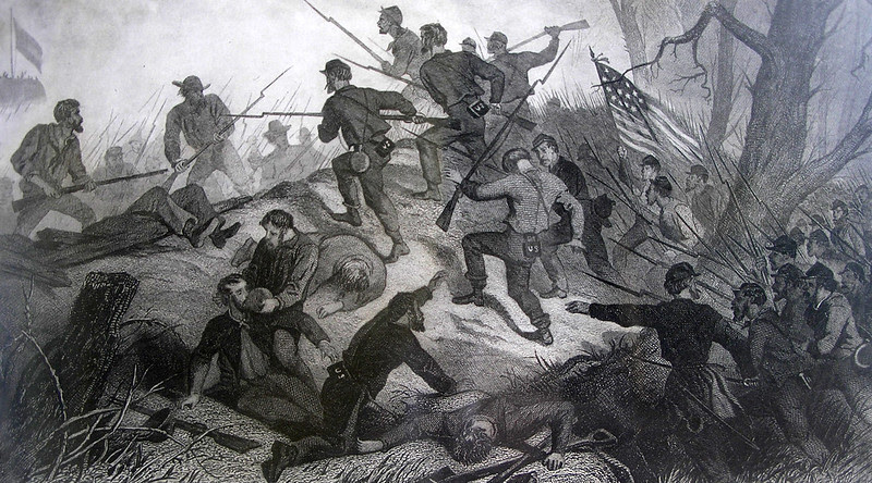Charge on Fort Donelson 1862