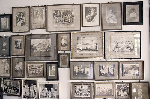 Old Family Photos at Chinpracha House