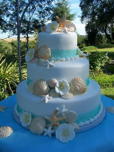 Beach Wedding Cakes: 15 Incredibly Fun and Vibrant Ideas