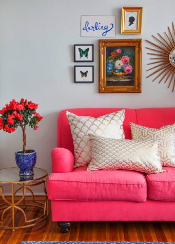 Hot Pink Decor Inspiration | Design Fixation