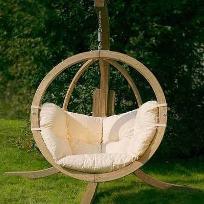 Globo Hanging Chair - contemporary - outdoor chairs - by Garden ...