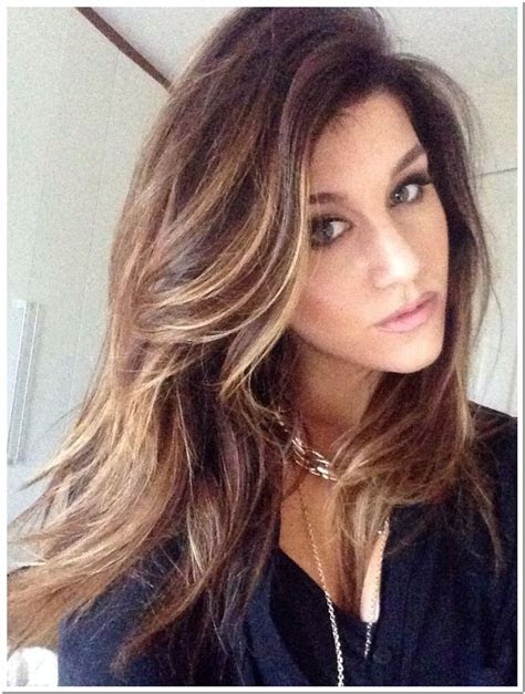 choosing highlights  brown hair inspiration
