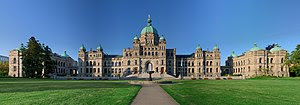 The British Columbia Parliament Buildings in V...