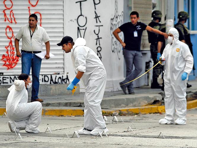Muchos de los asesinatps cometidos en Monterrey son adjudicados a la banda detenida ayer. Foto: Archivo