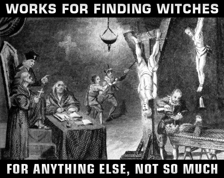torture works - witches