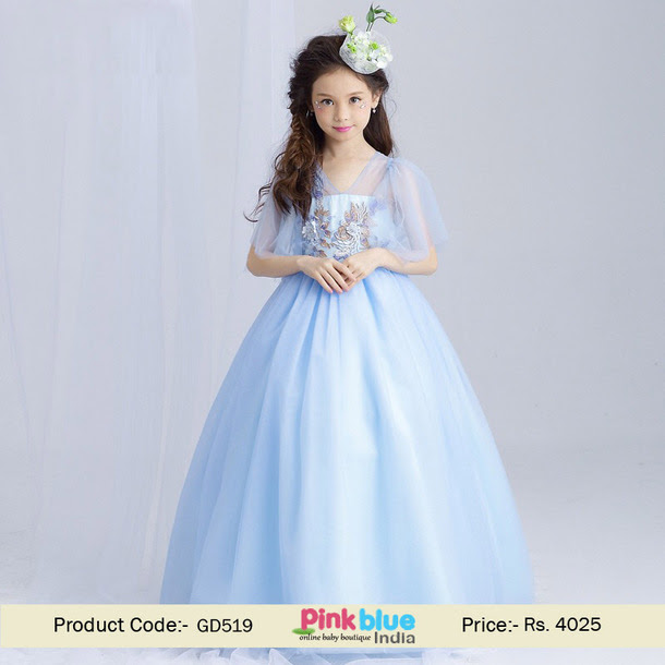 dress princess gown kids dresses baby girl dress
