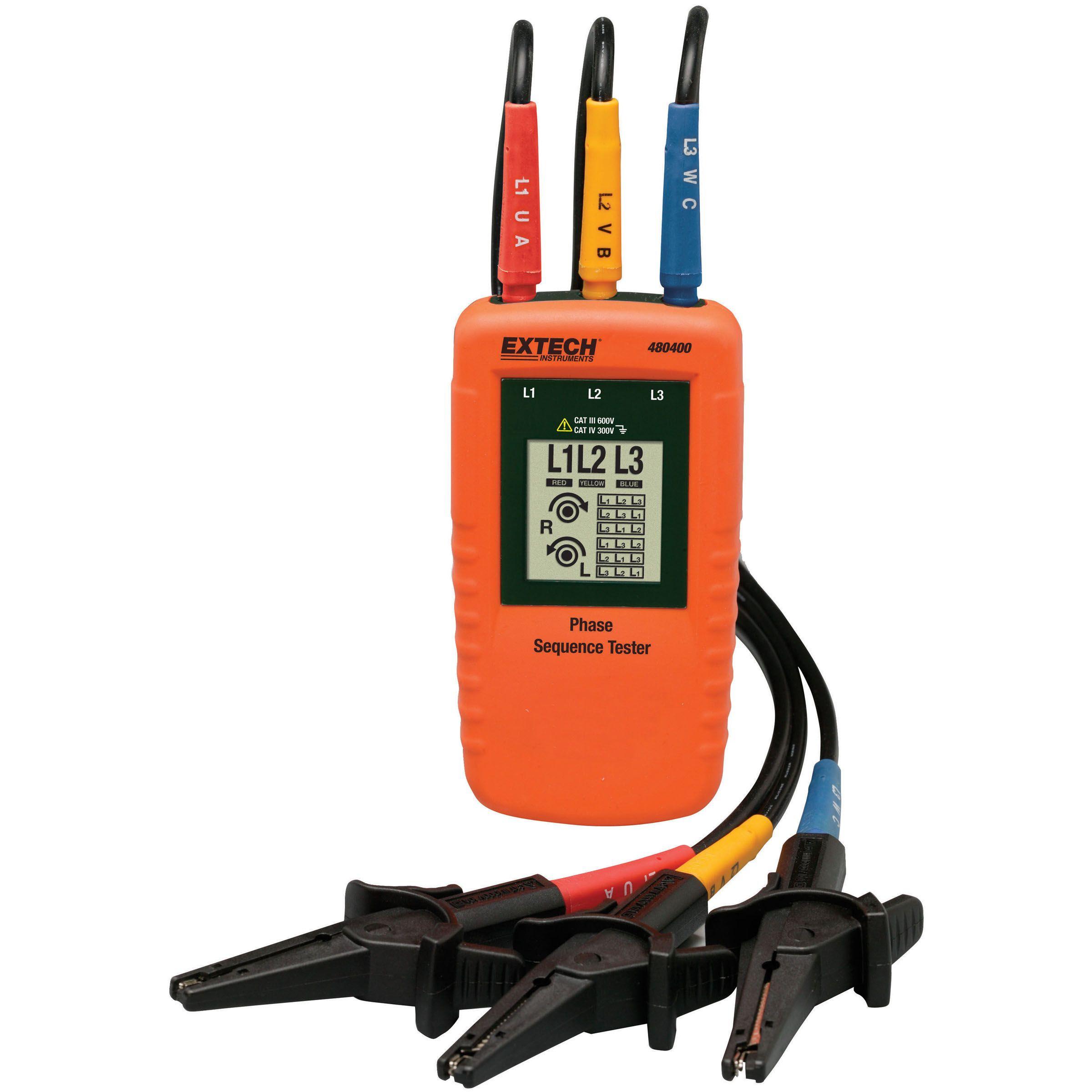 Extech 3 Phase Rotation Tester