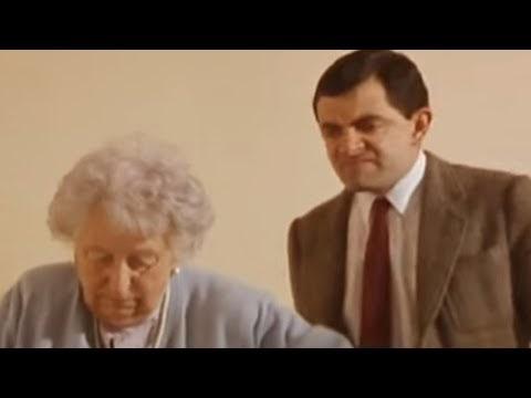 Mr Bean - Taking the stairs -- Die Treppe nehmen-TV Comedy