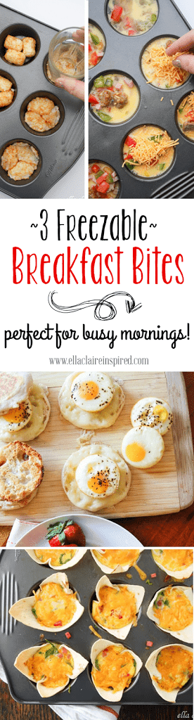 Freezable Breakfast Bites by Ella Claire