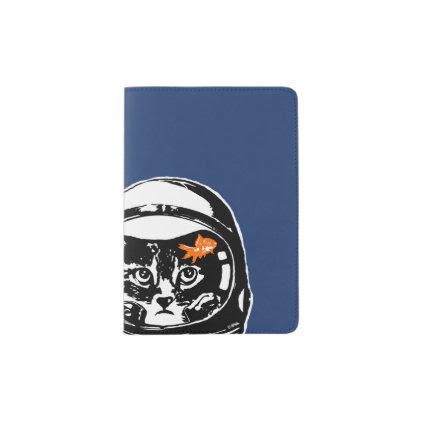 Space cat and the goldfish passport holder
