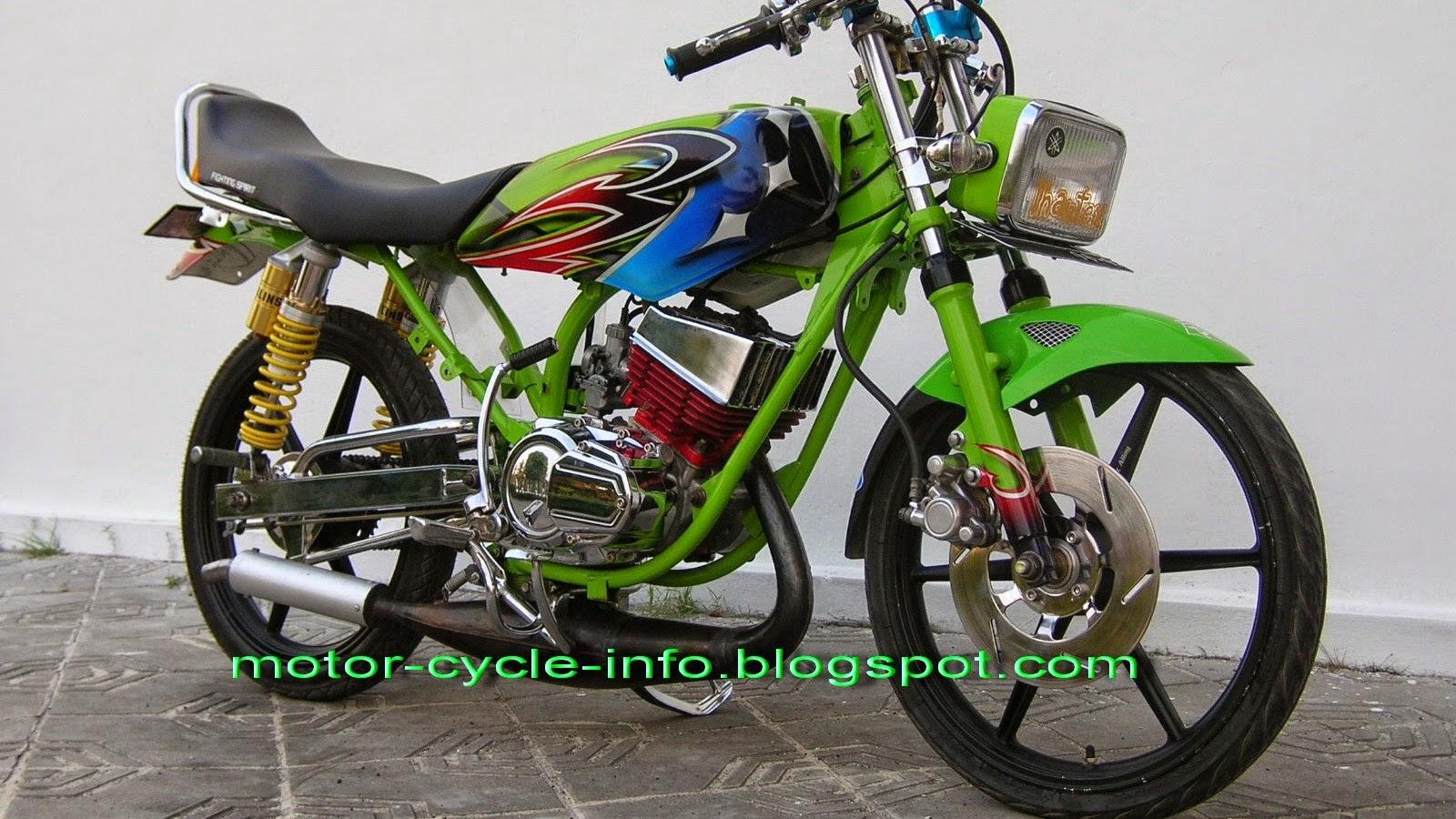 73 Modifikasi Motor Drag Honda Blade Terkeren Gudeg Motor