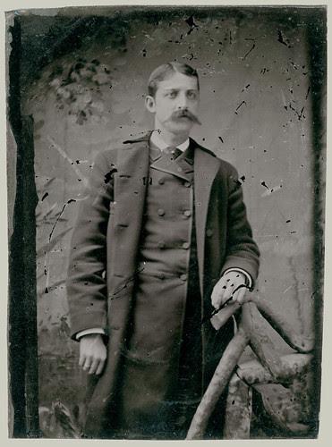 Tintype  Man with coat