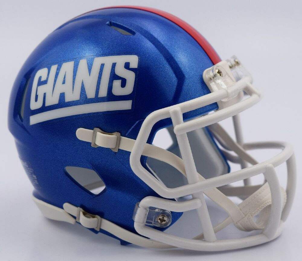NEW YORK GIANTS NFL Riddell SPEED Mini Football Helmet 2016 COLOR RUSH  eBay