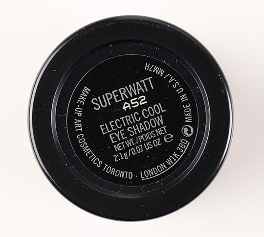 MAC Superwatt Electric Cool Eyeshadow