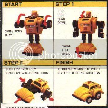 Cómo transformar un robot en un coche