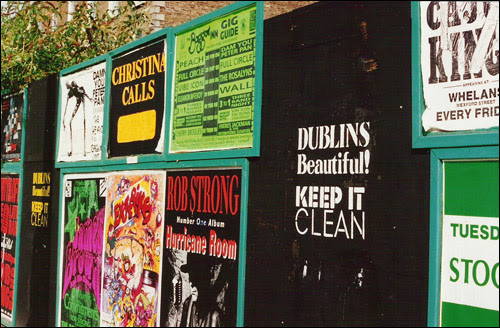 Dublin signs, early 90's