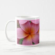 Pink Plumeria Mug mug