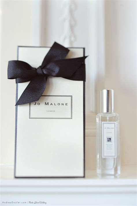 Jo Malone London Perfume for Wedding Day by Andrea Dozier