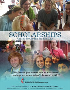 Download United Methodist Student Day Scholarship Poster Now!
