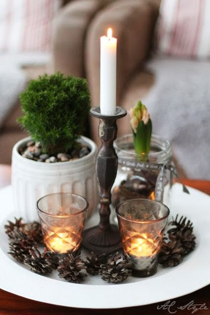 Decorative Winter Vignette
