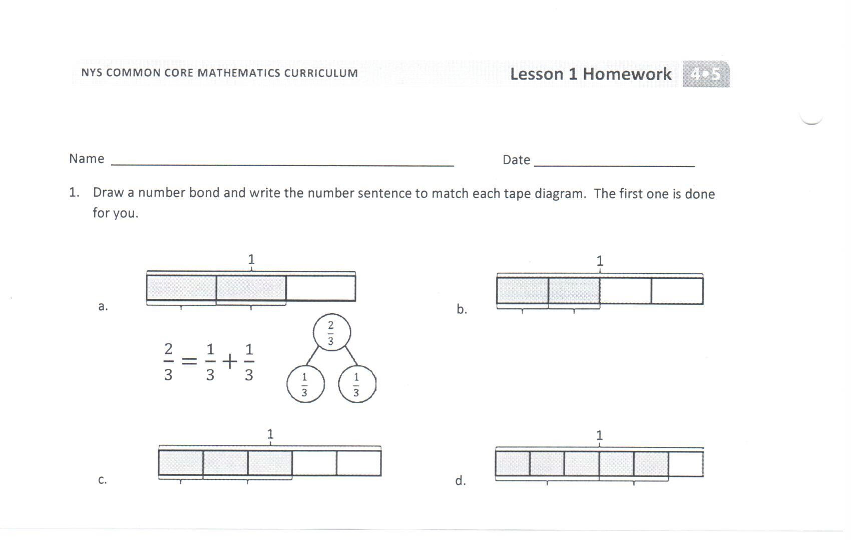 53 Pdf Example Of Tape Diagram 4th Grade Printable