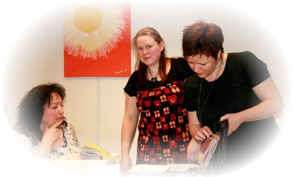 Astrid, Lise Katrine og Rita