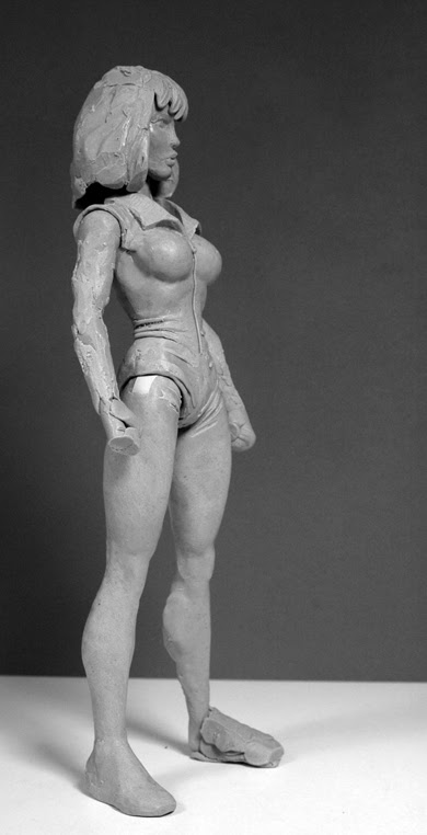NECA TMNT // ..preliminary April O'Neil.. [[courtesy of Steve Murphy]]