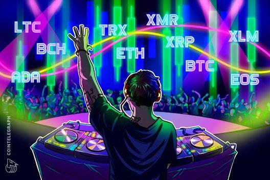 Bitcoin, Ethereum, Ripple, Bitcoin Cash, EOS, Stellar, Litecoin, Cardano, Monero, TRON: Price Analysis, Nov. 9