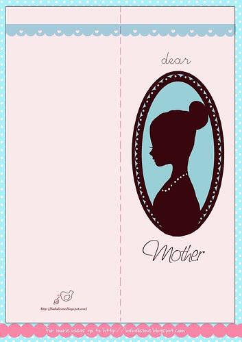 Alegres Tarjetas Para El Día De La Madre Para Imprimir
